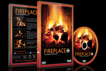 Fireplace - Filmed in 4K