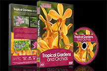Nature DVD - Tropical Gardens and Orchids dvd