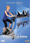 Virtual Cycle Rides - Sydney Australia virtual tour at Harbour Bridge and Sydney Opera House