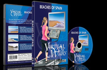 Scenic Walks for Indoor Fitness and Exercises in Coastal and Beach Scenery