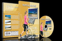 Virtual Walks for Indoor Fitness and Treadmill Exercises.